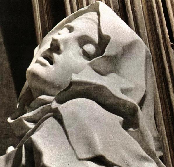 el éxtasis de Santa Teresa. Gian Lorenzo Bernini. (1647-1651)