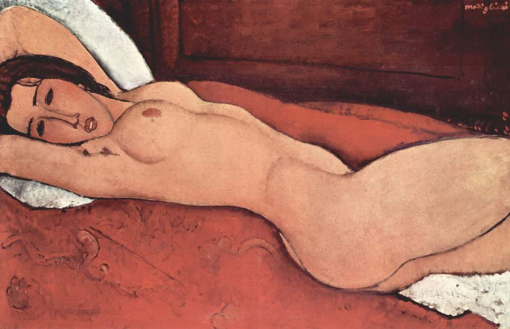 Amedeo-Modigliani_red-white-nude