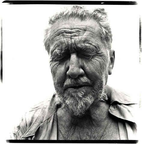 Ezra Pound por Richard Avedon