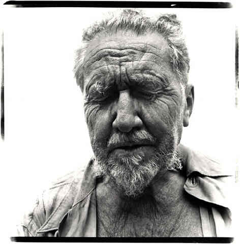 Ezra Pound por Richard Avedon